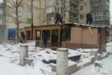 За неделю в Киеве демонтировали 615 квадратных метров незаконных мест