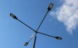 В Киеве новое освещение пятна