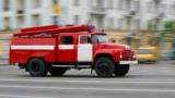 На бульваре Давыдова сгорело 9-этажное здание.