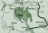Какой будет новая дорога вокруг Киева (схема)
