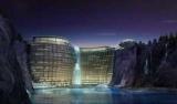 В Шанхае строят роскошный отель в заброшенном карьере